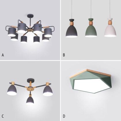 Комплект светильников NOA 17