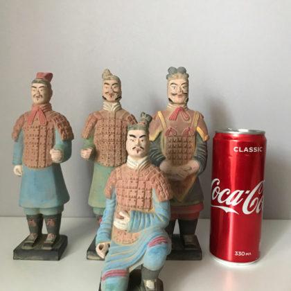 """Статуэтки """"Терракотовых воины"""", комплект 5 шт."""