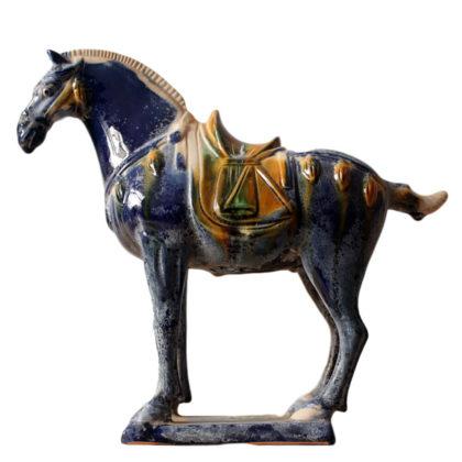 """Статуэтка """"Лошадь синяя малая"""""""
