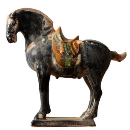 "Статуэтка ""Лошадь черная малая"""
