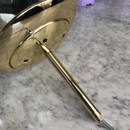 Подвес STEVIE Melt Gold Pendant
