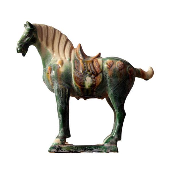 """Статуэтка """"Лошадь зеленая малая"""""""