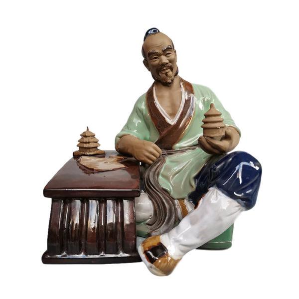 """Фарфоровая статуэтка """"Китайский учитель"""""""